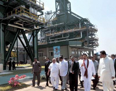 Mahinda Rajapaksa open Kerawalapitiya power plant